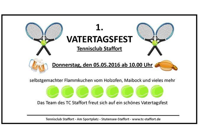 Vatertagsfest TC Staffort