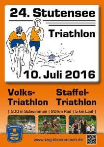 24. Stutensee-Triathlon