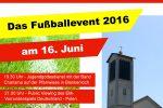 Großes Fußballevent der Kirchengemeinde Stutensee-Weingarten