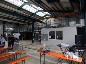 Werkstatthalle Firma Mahler