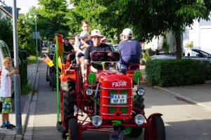 Traktorfahren mit den Bulldogfreunden