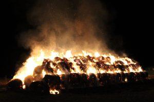 Heuballenbrand Friedrichstal