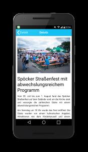 Screenshot Android App