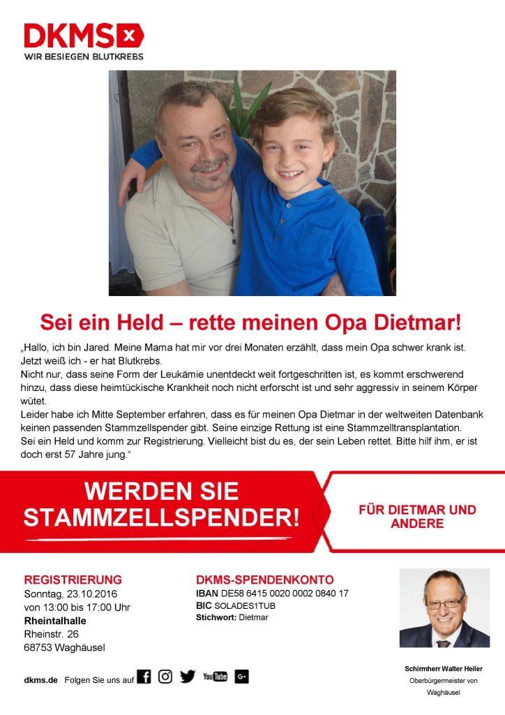DKMS-Aktion Waghäusel