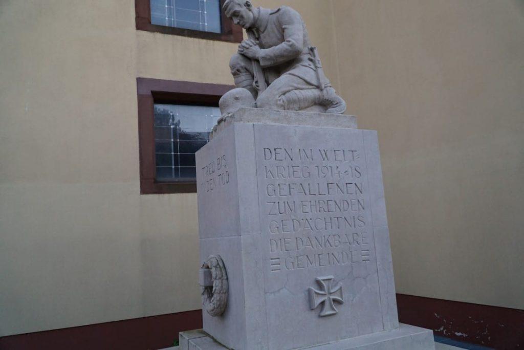 Kriegerdenkmal Spöck