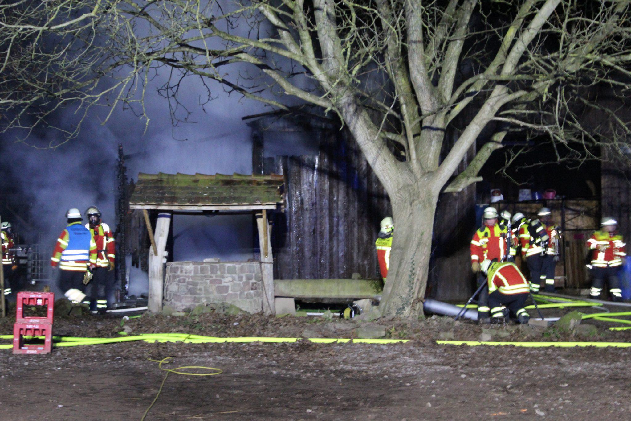 Brand auf Pferdehof in Blankenloch | meinstutensee.de